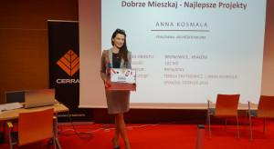 Anna Kosmala, nagroda w konkurse Dobrze Mieszkaj - Najlepsze Projekty_DSC02413.png