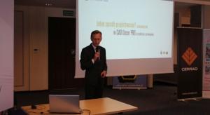 Marcin Pietrzyk, przedstawiciel firmy CAD Projekt. Studio Dobrych Rozwiązań