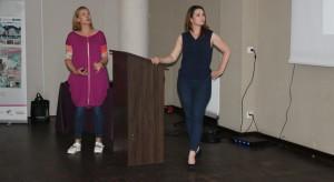Wystąpienie Gości Specjalnych - Sylwia Wilgatek-Wykuz i Małgorzata Ziółkowska, prowadzące na antenie HGTV program Drugie życie mebli, właścicielki pracowni Dwie Baby