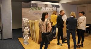 Stoisko marki Finishparkiet. Studio Dobrych Rozwiązań, 11.04 Bielsko-Biała