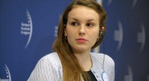 Tereza Rasochová - studentka Uniwersytetu Karola w Pradze, studentka Kings College London, alumn Fundacji Zdenka Bakali, Aspen Institute Prague