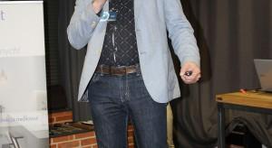 Radosław Pietrak, reprezentujący firmę Rejs.JPG